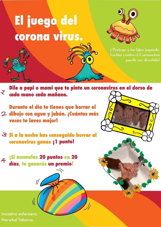 El juego del coronavirus