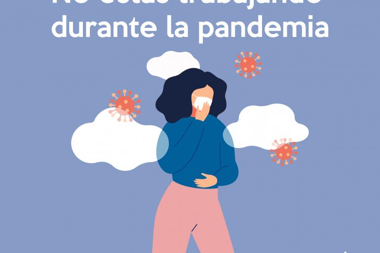 Trabajando a pesar de la pandemia