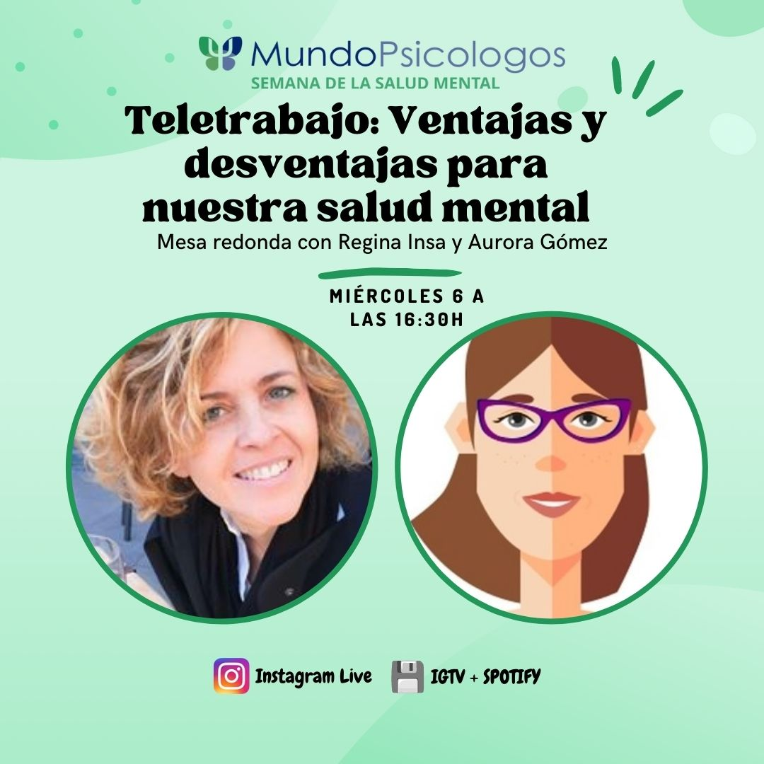 Charla: Teletrabajo y Salud Mental